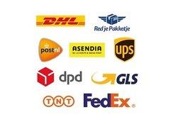 Shipments GLS, UPS, DPD, POSTNL ....