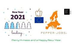 Prettige kerstdagen en een gelukkig nieuwjaar 2021.
