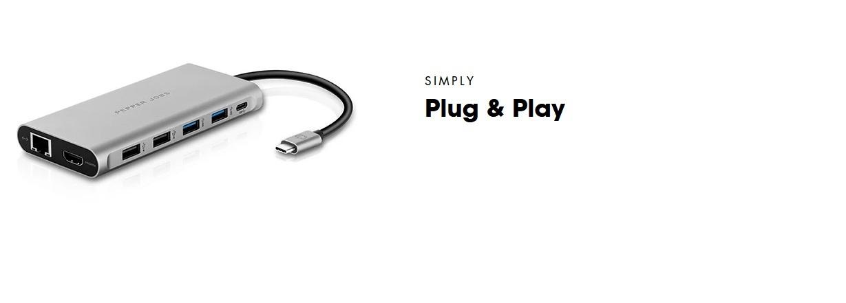 TCH-12 HUB USB C | PEPPER JOBS EU