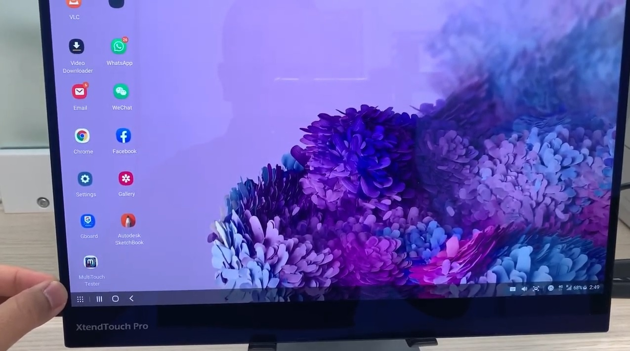 XtendTouch Pro XT1610UO upgrade tutorial