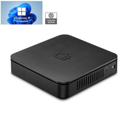 PEPPER JOBS Fanless Mini PC GLK-UCX 8GB/64GB/ Upgrade manuale Windows 10 Pro