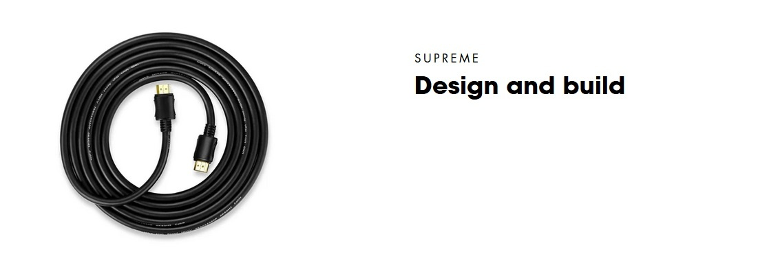 UHS3M HDMI 2.1 certified cable | PEPPER JOBS EU