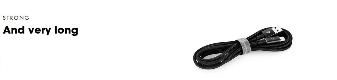 Câble de charge et de synchronisation A2C3M PEPPER JOBS UE
