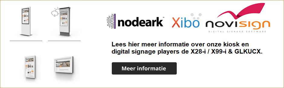 Offizieller autorisierter EU-Händler für PEPPER JOBS-Produkte Digital Signage Kiosk players X28-i und X99-i