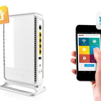Sitecom Wifi Moden Router X4 N300