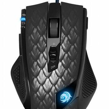 Sharkoon Gaming Mouse Drakonia Black /  8.200dpi sensor