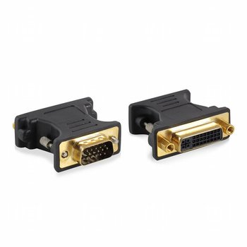 Ewent EW9851 kabeladapter/verloopstukje VGA DVI-A Blauw