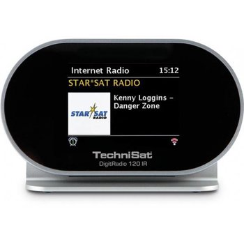 Technisat Technisat DigitRadio 120 IR, black/silver, DAB+/WLAN/BT/MR