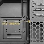 Antec Case  One Black / ATX mirco-ATX mini-ITX