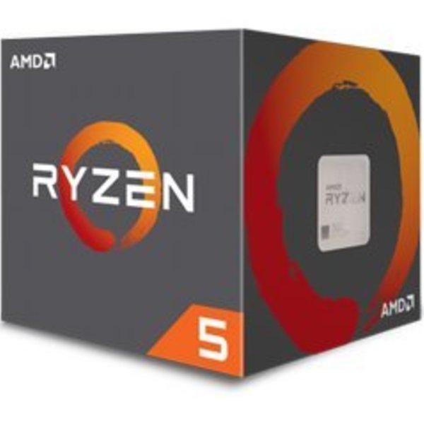 AMD CPU  Ryzen 5 1400 / AM4 BOX / 3.2-3.4GHz