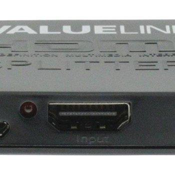 OEM HDMI Splitter 2-poorts Zwart