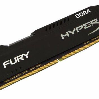 Kingston HyperX FURY Memory Black 8GB DDR4 2400MHz 8GB DDR4 2400MHz geheugenmodule