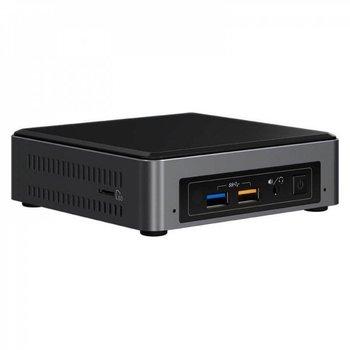Intel NUC7i5BNK i5-7260U 2,2 GHz UCFF Zwart, Grijs