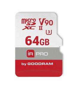 Goodram IRDM PRO MicroCard 64GB SDXC UHS-II Klasse 10 flashgeheugen