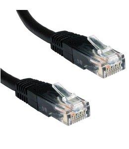 Ewent ACT Zwarte 2 meter UTP CAT5E patchkabel met RJ45 connectoren