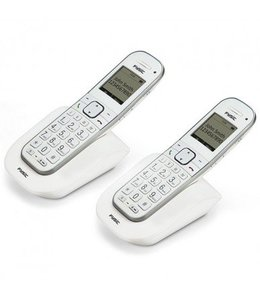 Fysic FX-9000 DUO Senioren DECT telefoon duo, wit