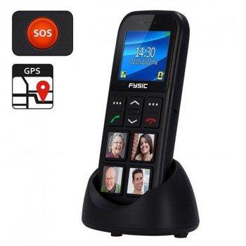 Fysic FM-50 Eenvoudige senioren mobiele telefoon met GPS en fototoetsen