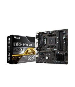 MSI B350M PRO-VDH AMD B350 Socket AM4 Micro ATX