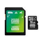 Goodram 16GB Micro SD + adapt /4K Class 10