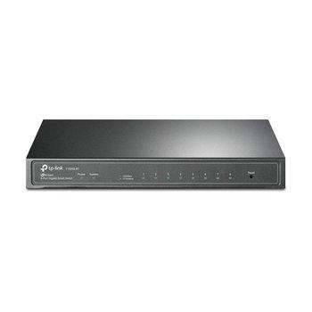 TP-Link TP-LINK T1500G-8T Managed L2/L3/L4 Gigabit Ethernet (10/100/1000) Power over Ethernet (PoE) Zwart netwerk-switch