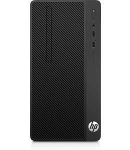 Hewlett Packard HP 290 G1 3.9GHz i3-7100 Micro Tower Zevende generatie Intel® Core™ i3 Zwart PC