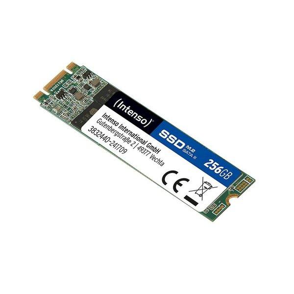 Intenso SSD  m.2 256GB ( 520MB/s Read 400MB/s )