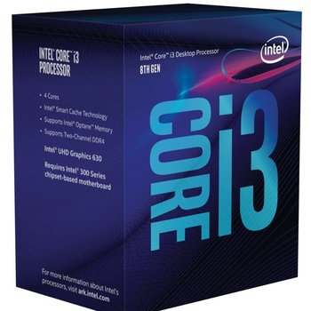 Intel CPU ® Core™ i3-8350K 8th /4Ghz / Quad Core/ LGA1151