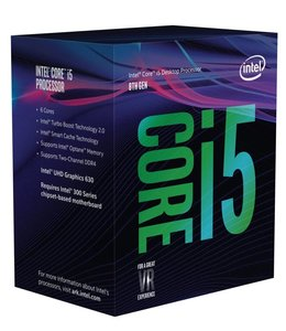 Intel Core ® ™ i5-8600 Processor (9M Cache, up to 4.30 GHz) 3.1GHz 9MB Smart Cache Box