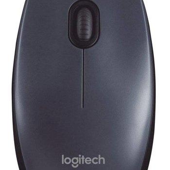 Logitech M100 muis USB Optisch 1000 DPI