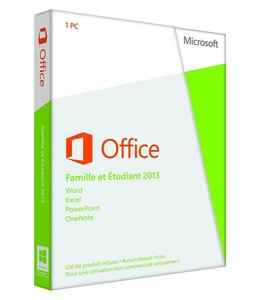 Microsoft MS Office 2013 Home and Student 1-User French