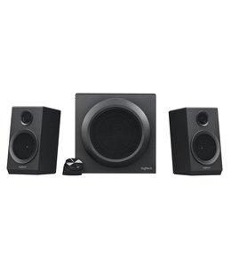 Logitech Z333 2.1kanalen 80W Zwart luidspreker set