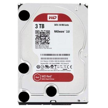"""Western Digital Red 3.5"""" 3000 GB SATA III HDD"""