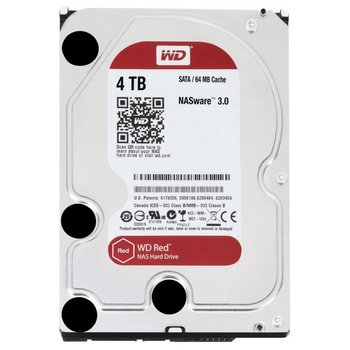 "Western Digital Red 3.5"" 4000 GB SATA III HDD"