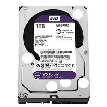 "Western Digital Purple 3.5"" 1000 GB SATA III HDD"