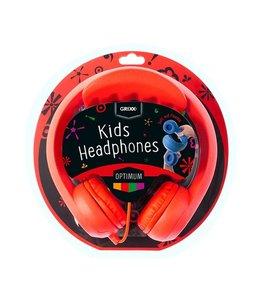 Grixx Optimum Headphone Kids Red