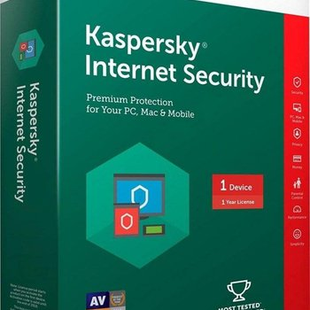 Kaspersky Internet Security MD 1 User Retail Multi-Language
