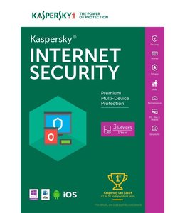 Kaspersky Internet Security MD 3 User DVD Retail Multi-Langu