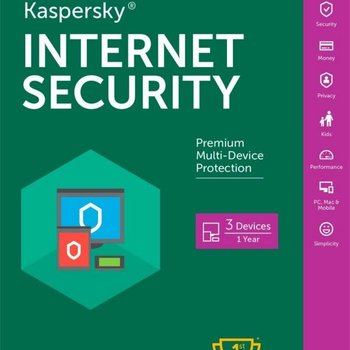 Kaspersky Internet Security MD 3 User DVD Retail Multi-Langu