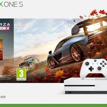 Microsoft XBOX One S / 1Tb White + Forza Horizon 4 BUNDLE