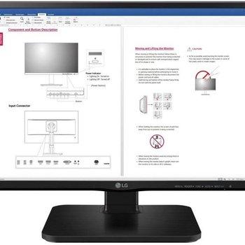 "LG 24BK450H computer monitor 60,5 cm (23.8"") Full HD LCD Zwart"