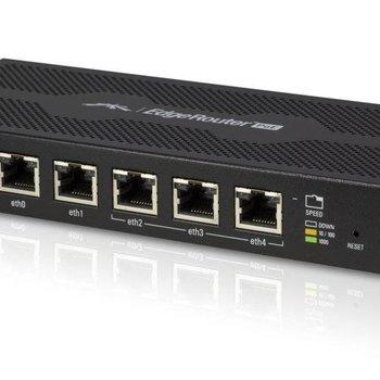 Ubiquiti Networks EdgeRouter ERPOE-5 bedrade router Ethernet LAN Zwart