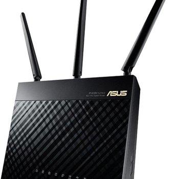 Asus ASUS RT-AC68U draadloze router Dual-band (2.4 GHz / 5 GHz) Gigabit Ethernet Zwart