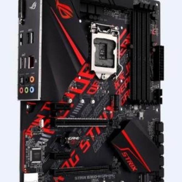 Asus MB  ROG Strix B360-H Gaming / 8th comp. / 4x DDR4 / ATX