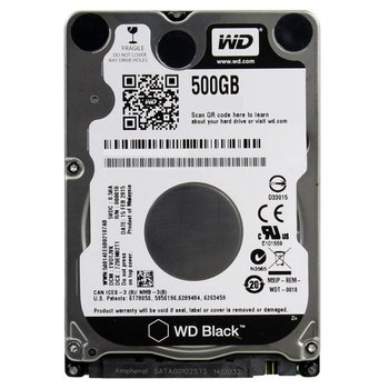 Western Digital Black 500GB SATA III interne harde schijf
