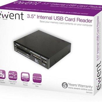 Ewent Eminent 3.5'' Internal Cardreader USB 2.0 geheugenkaartlezer