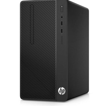 Hewlett Packard HP 290 G1 Desk / i3-7100 / 8GB / 500GB+240GB SSD / DVD / W10