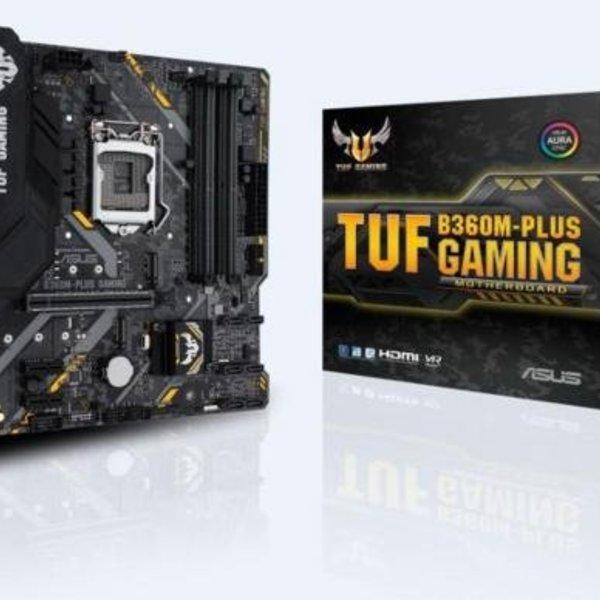 Asus MB  TUF B360M-Plus Gaming / 1151 8th comp /  m.2  / mATX