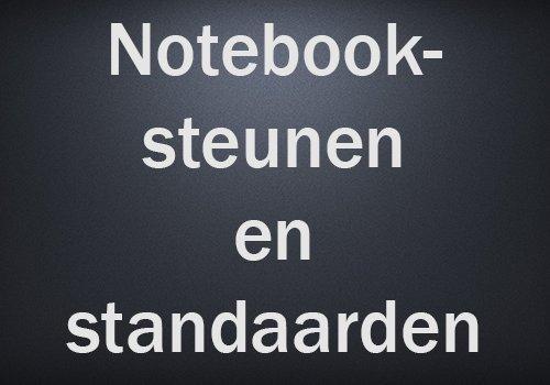 Notebooksteunen en -standaarden