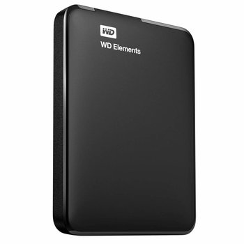 Western Digital WD Elements Portable 2.5 Inch externe HDD 2TB, Zwart