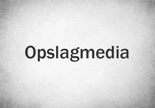 Opslagmedia